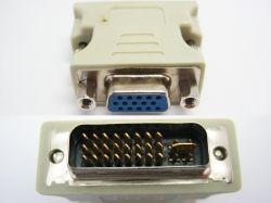 VGA i DVI na płycie głównej - Nie działa DVI a VGA działa. potrzebuje podłączyć