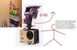 kamera i statyw do nagrywania filmów z klockami lego