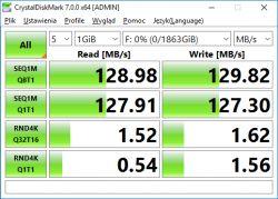 """Dysk zewnętrzny 2.5"""" ADATA Durable HD650 - wnętrze, testy (dwa dyski)"""