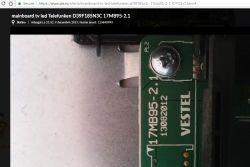 Telefunken D39F185N3C - nie włącza się, miga dioda STANDBY.