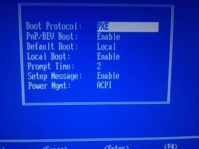 Boot from LAN - wskaz�wki