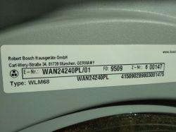 Pralka Bosch VarioPerfect serie4, E-Nr.: WAN24240PL/01 - kłopot z włączeniem