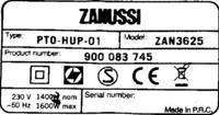 Odkurzacz Zanussi ZAN3625 - Jak dosta� si� do zwijacza
