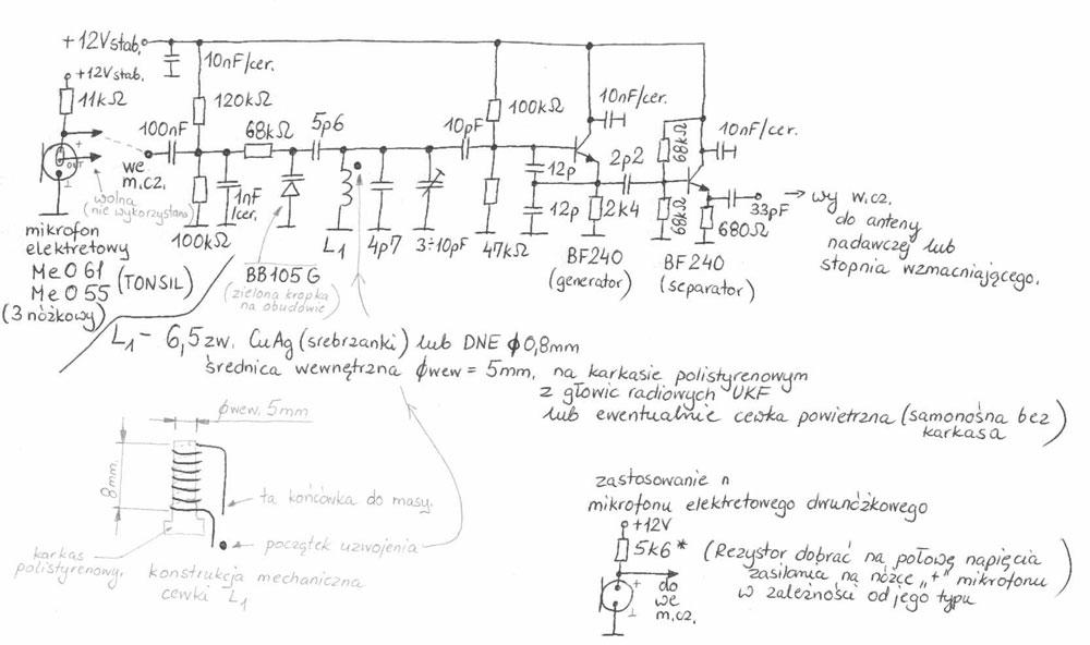 Prosty generator VCO - czy naprawd� nic nie wiem o elektronice?