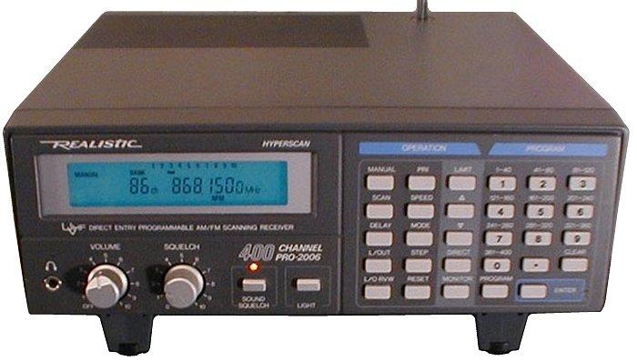 Realistic PRO-2006, PRO2006 Instrukcja EN
