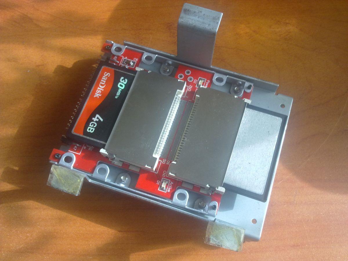 AMIGA 1200 - podlaczenie 2 kart CF- jak ?
