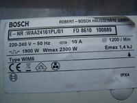 Sprzedam sprawny modu� i silnik do pralki Bosch