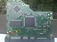 Seagate - ST3100528AS uszkodzona elektronika.