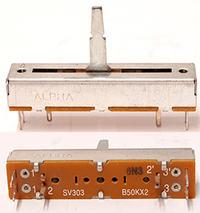 [Kupi�[Numark dm950. Crossfader - potencjometr B50KX2.