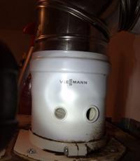 viessman vitopend 100 - zapala się czerwona lampka