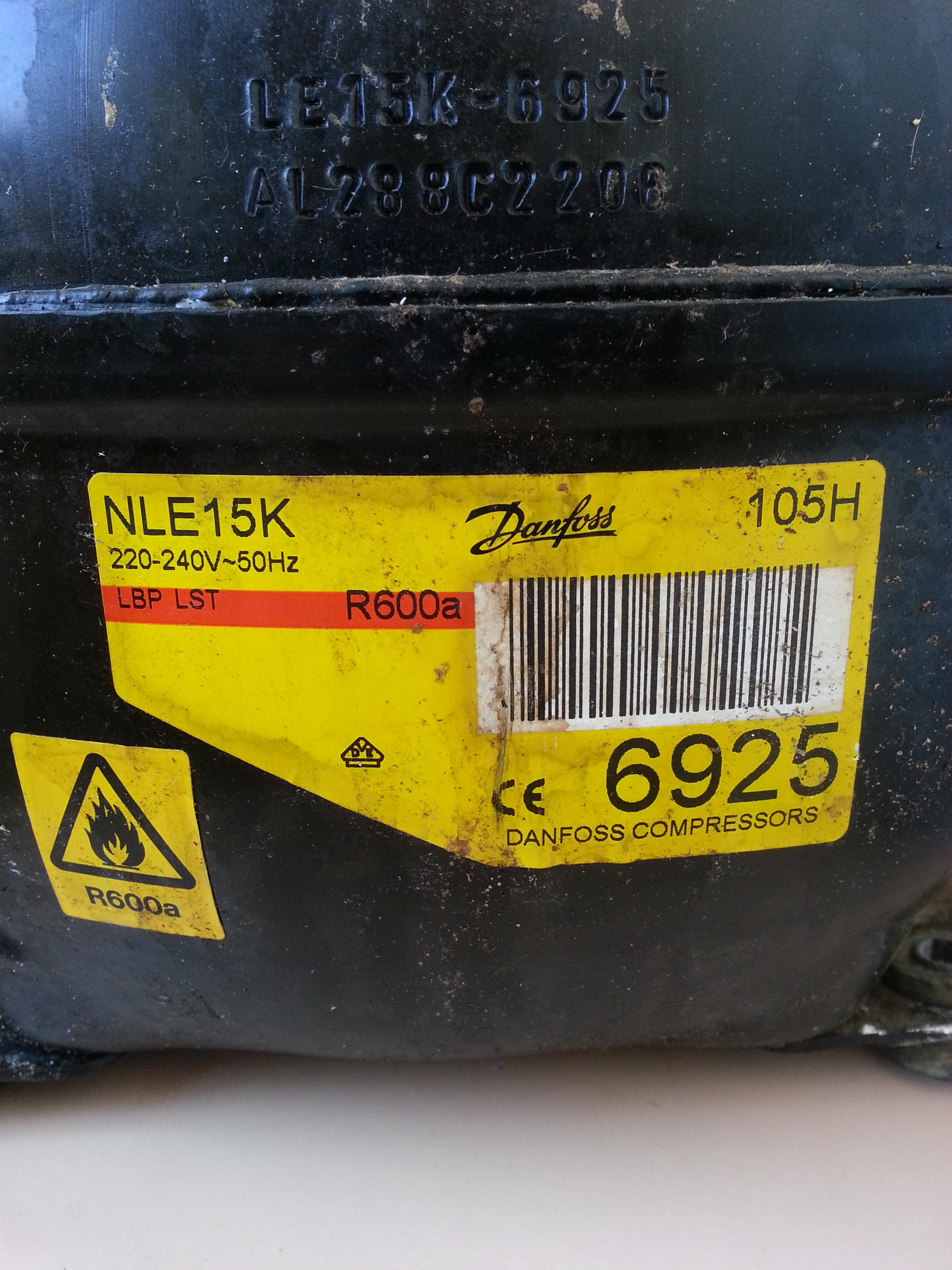 Kompresor z agregatu od lod�wki jak pod��czy� - NLE15K