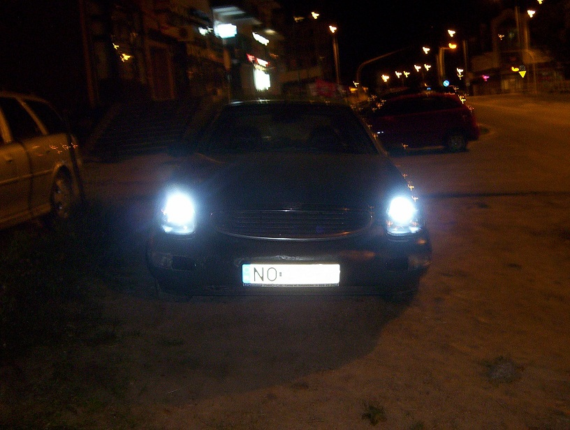 �wiat�a LED do jazdy dziennej w Fordzie Scorpio MKII by DaKKi