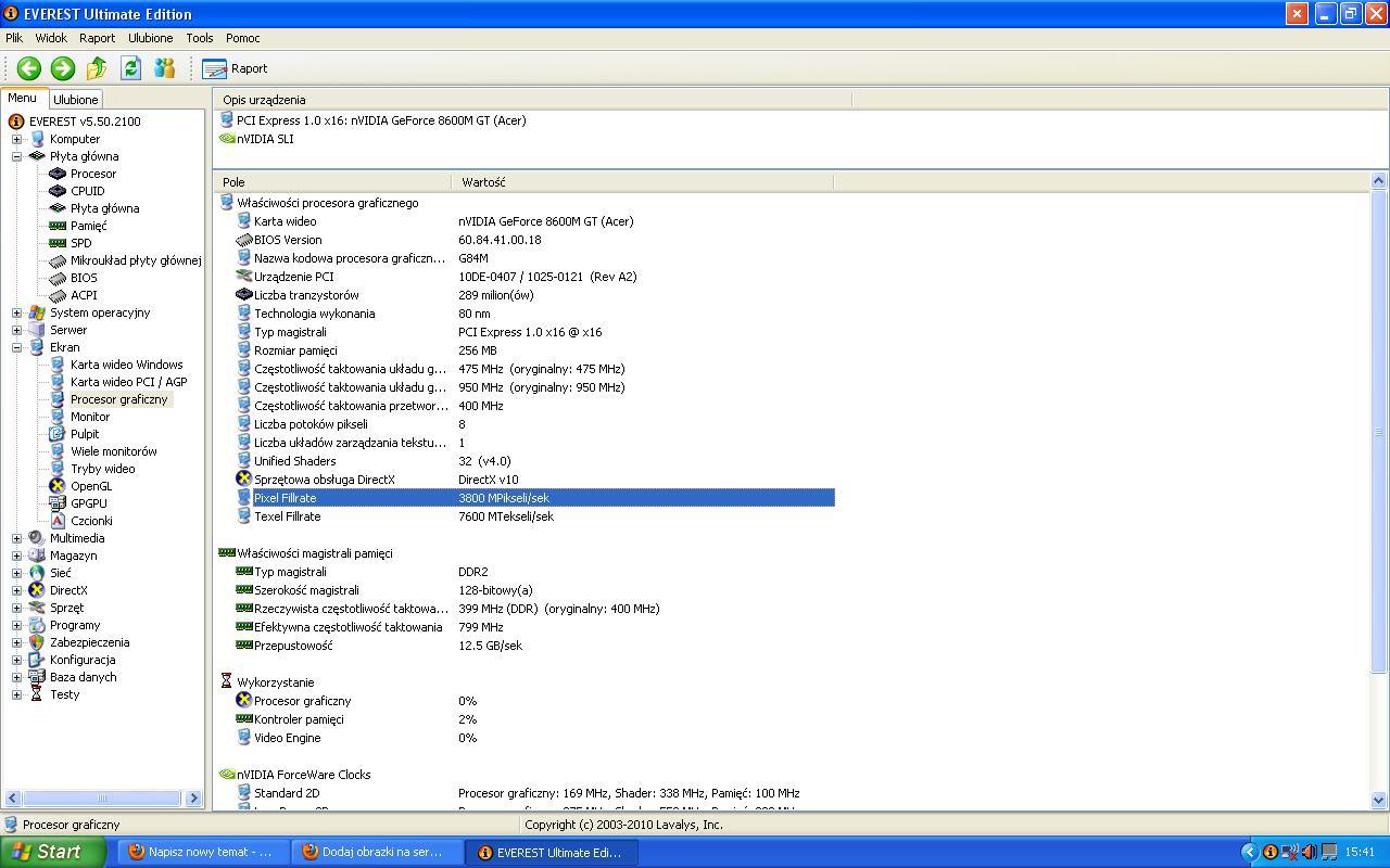 Acer aspire 5920g - zmiana karty graficznej