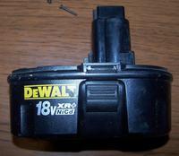 Akumulator DeWalt DW9096 18V XR+ NiCD - regeneracja - jakie ogniwa?