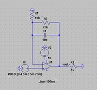 Wzmacniacz operacyjny wzmacniajacy sygnał pwm z ATMEGA16
