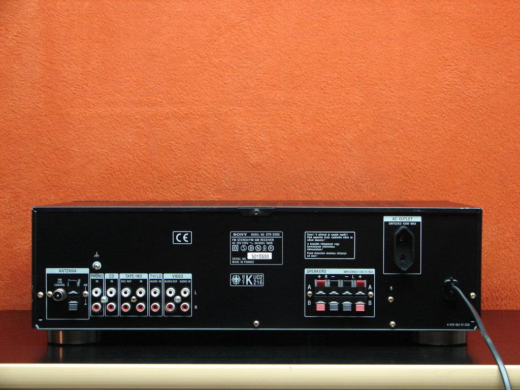 Sub Tonsil ZGN 200-8-594  - jakie kable do pod��czenia z SONY STR-D365