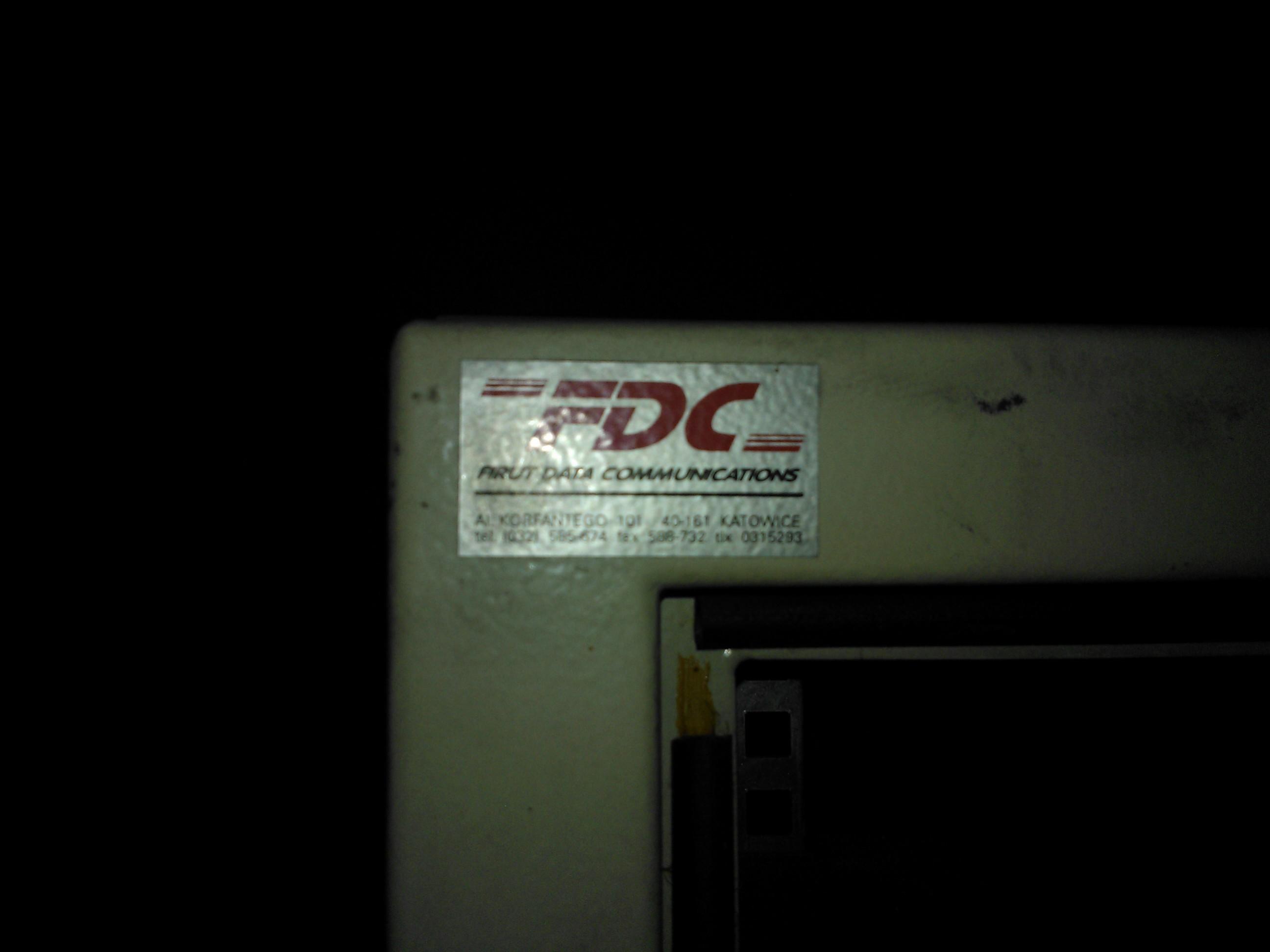 [Sprzedam] Szaf� serwerow� firmy FDC