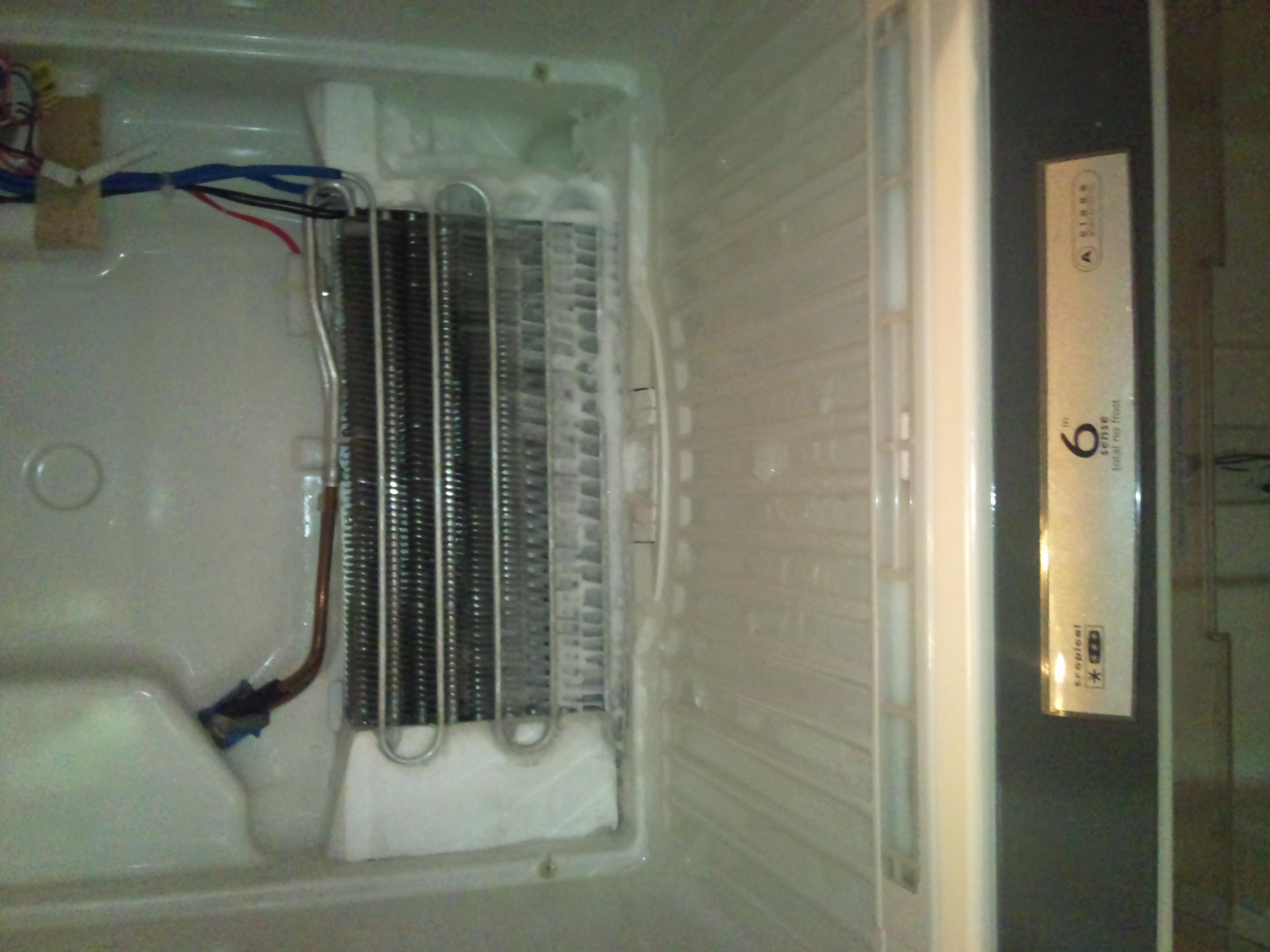 Lod�wka Whirlpool ARC 4190/2 IX - mrozi ale nie ch�odzi.