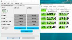 SSD Intel wolny zapis - Wolny zapis na nowym dysku SSD