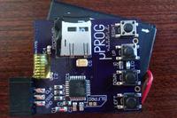 [Sprzedam] PCB uProg by manekinen + LCD