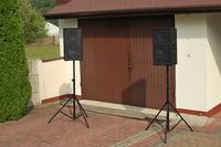 Kolumny dla DJ na GDN-30-400-8-SE i D-800-8-Ti-S