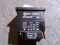 Kranzle 125 - zamiennik włącznika Weber Unimat WT 22-551