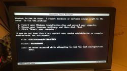 [Lenovo IdeaPad 700] System nie startuje po aktualizacji biosu