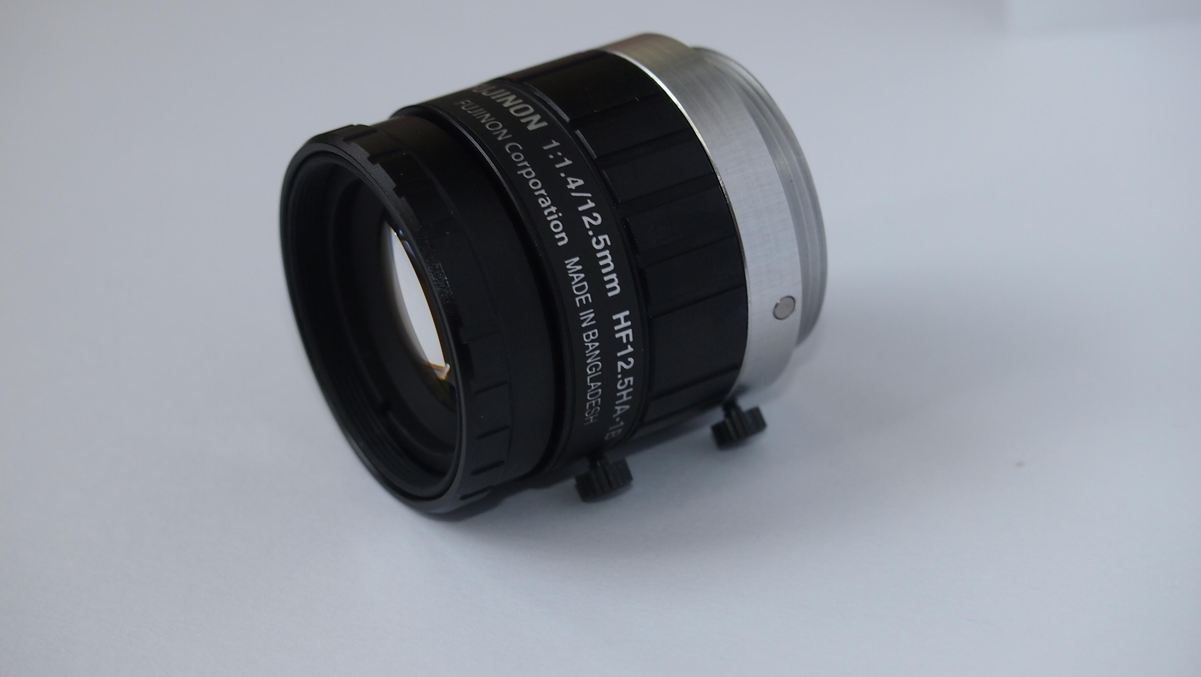 TOSHIBA CCD CAMERA CS8570D/FUJINON HF12.5HA-1B - kilka pyta�