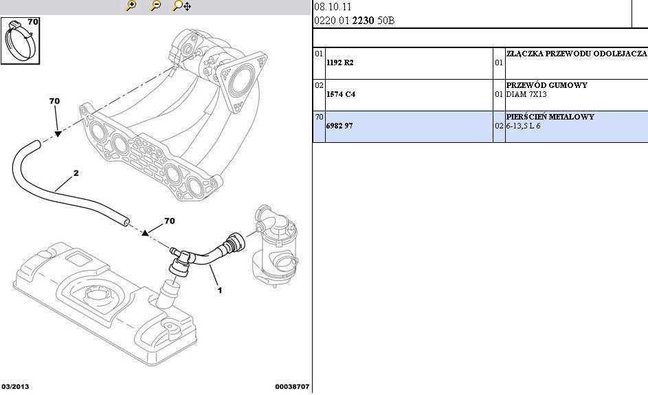 Citroen Saxo VTS - 1.6 8V Po co ta rurka z odmy do kolektora?