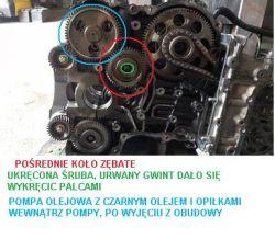 Mercedes W212 2.2 CDI - Zatarty silnik chwile po wymianie na nowy regenerowany