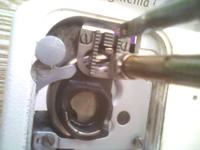 Maszyna do szycia łucznik 827 E - robi pętelki od spodu