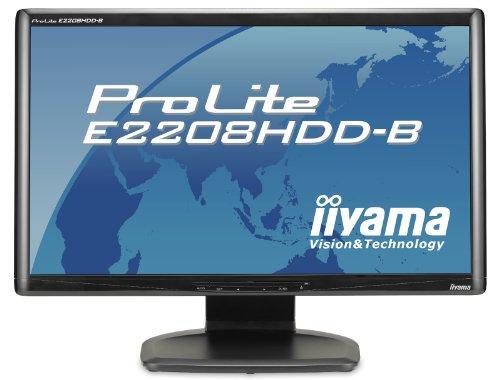 E2008HDD-B LCD - nowy 20-calowy monitor ProLite od Iiyama