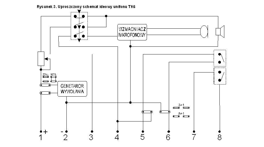 Jak pod��czy� domofon (stary typ) a domofon TK6?