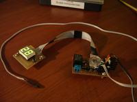 Termostat do wytrawiarki (Atmega8, DS18B20 - termometr, JQC-3FF - przeka�nik)