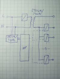 ESP8266/Trafo/Przekaźniki - Sterownik podlewania ogrodu na ESP8266 / MQTT