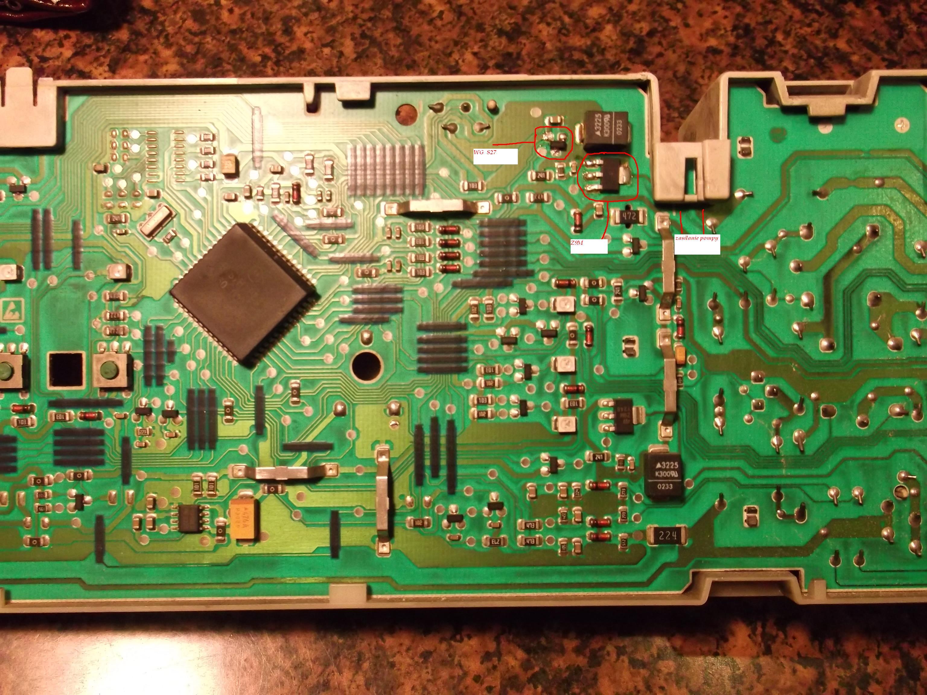 Bosch WOL1650 - Ca�y czas dzia�a pompa spustowa