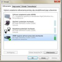 Laptop HP DV6-1120ew ---> głośniki Logitech z906 5.1 - SPDIF