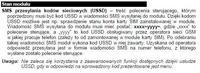 Konwerter GPRS-T1 -sprawdzanie stanu konta