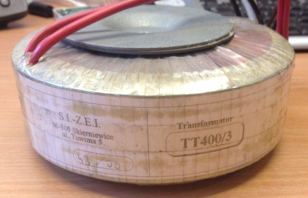 [Sprzedam] Transformator toroidalny 400W 2x34V AUDIO z ekranem