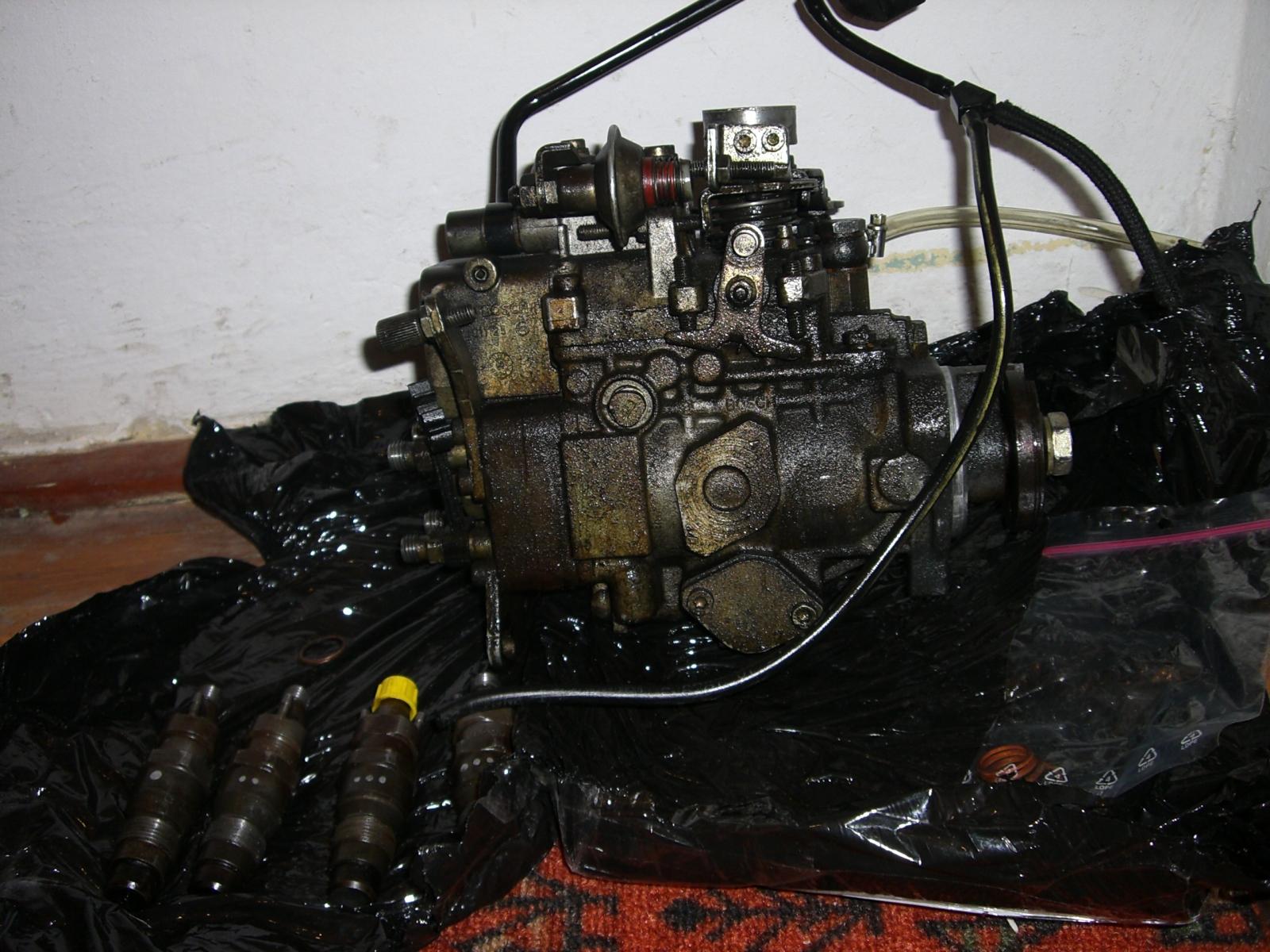 Peugeot Partner 1.9D - Po wymienie rozprz�du pali 10l, przed pali� 7l.