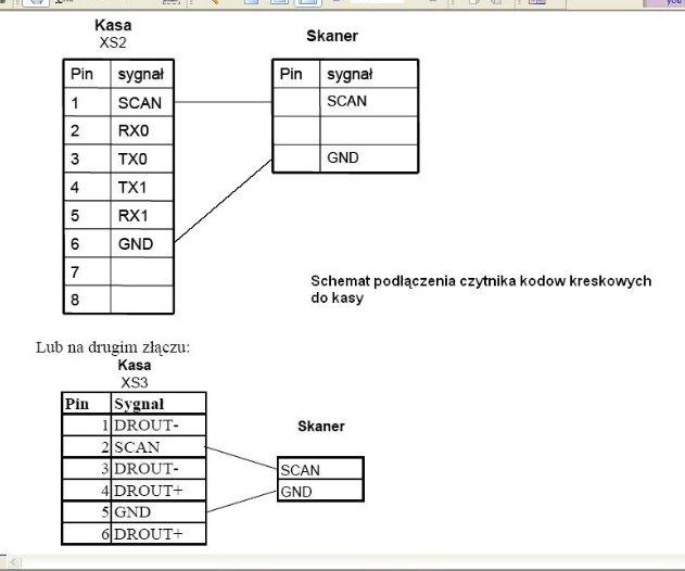 kasa mercury 130F czytnik kod�w LS 2208