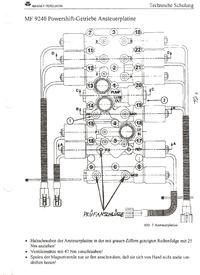Massey Ferguson 9240 wrzucanie biegów.