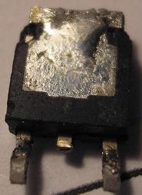 Płyta gł. Fujitsu-Siemens - uszkodzony element