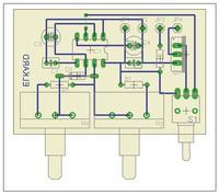 Stroboskop NE555 - dobry schemat ( Eagle ) ??