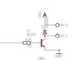 Atmega8-16PU + SHT11 + LCD2x16 + LED + SWITCH2