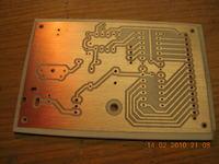 Efektowny zegar z diod LED na pcf8583 i atmega8