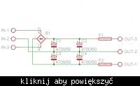 [PCB] Zasilacz symetryczny dla wzmacniacza