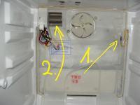 lodówka samsung RL33 źle pracuje - ciepło w lodówce