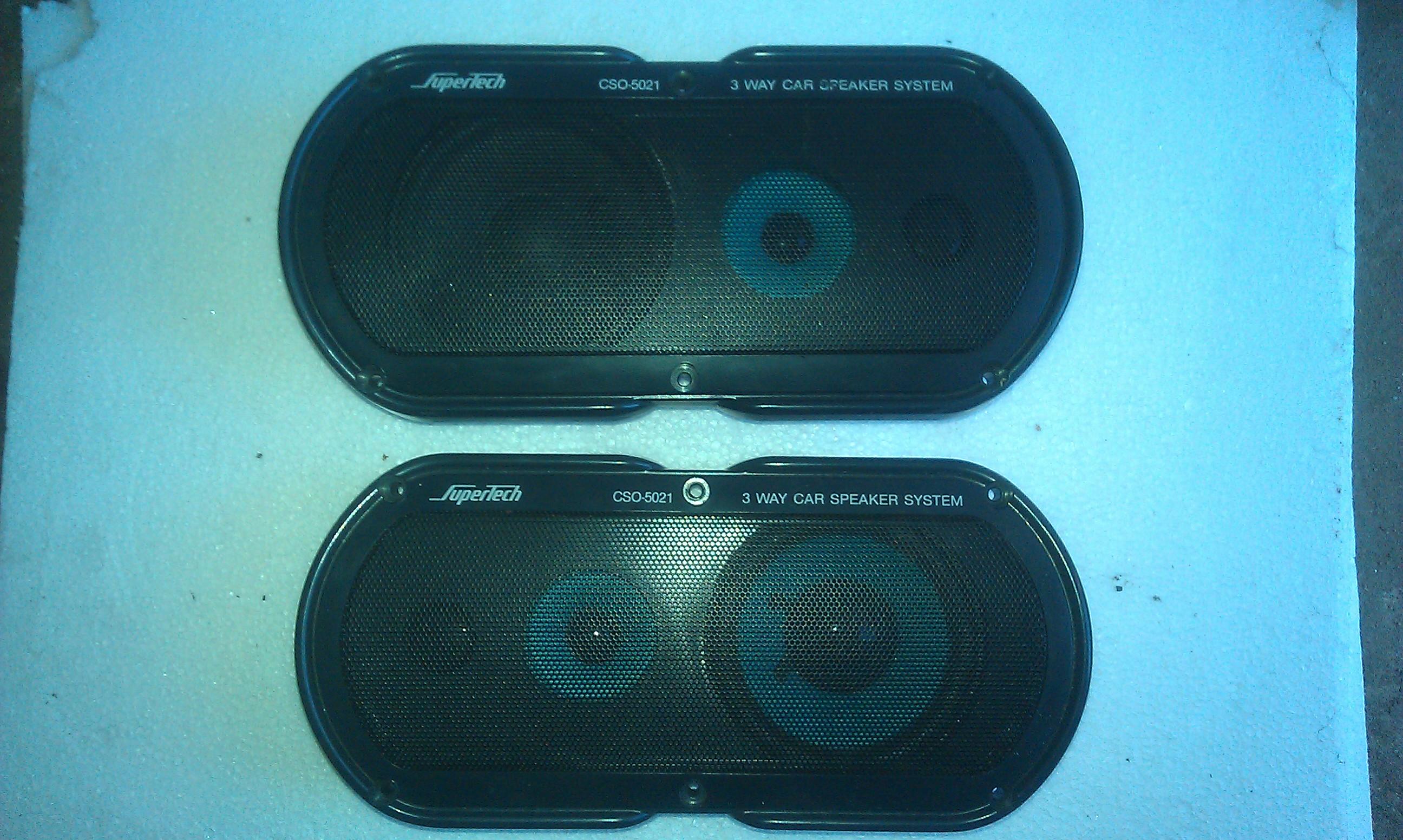 [Sprzedam] G�o�niki car-audio SuperTech CSO-5021, CAT 30409 i Mazda OEM 5x7
