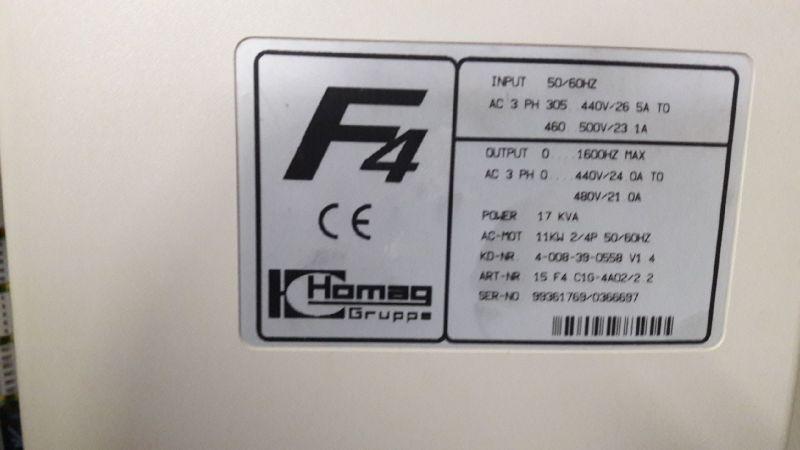 Obroty Falownik F4 Keb Homag Optimat BP145